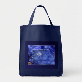 WADJET EYE OF HORUS Fantasy Tote Bag