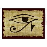 WADJET EYE OF HORUS on Papyrus Gift Series Greeting Cards