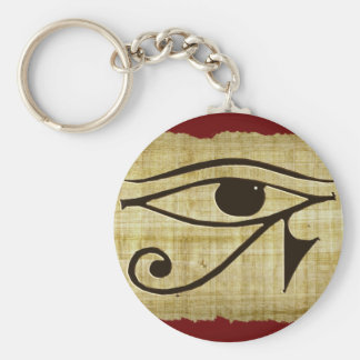 WADJET EYE OF HORUS on Papyrus Gift Series Keychain