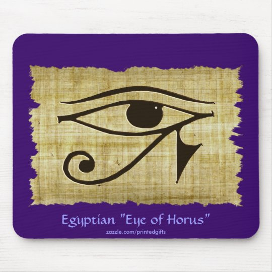 WADJET EYE OF HORUS on Papyrus Gift Series Mouse Pad