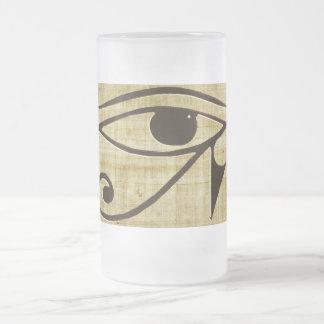 WADJET EYE OF HORUS on Papyrus Gift Series Coffee Mugs