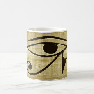 WADJET EYE OF HORUS on Papyrus Gift Series Classic White Coffee Mug