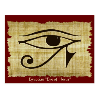 WADJET EYE OF HORUS on Papyrus Gift Series Postcard