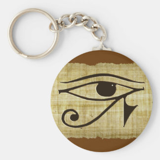 WADJET EYE OF HORUS on Papyrus Gifts Keychain