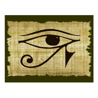 WADJET EYE OF HORUS on Papyrus Gifts Post Card