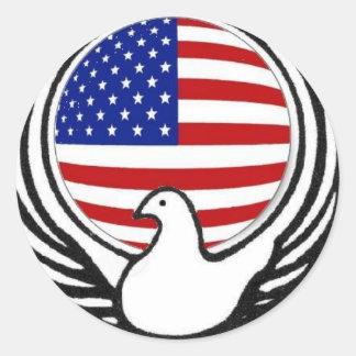 Wado in America Classic Round Sticker