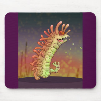 WADOO CUTE ALIEN MONSTER CARTOON MOUSE PAD