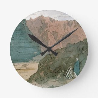 Wady Sidera, 1849 (w/c) Round Clock