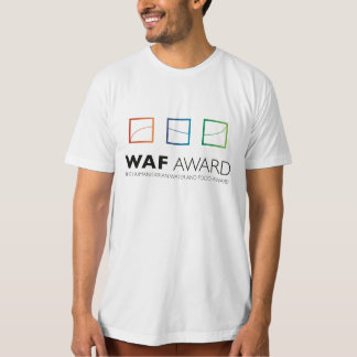 WAF Award Official Men T-Shirt (White)