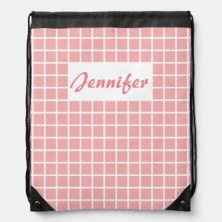 Wafer Drawstring Backpack
