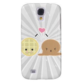 waffle and ice cream love galaxy s4 covers