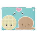 waffle and ice cream love iPad mini cases