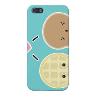 waffle and ice cream love iPhone 5 cases