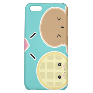waffle and ice cream love iPhone 5C case