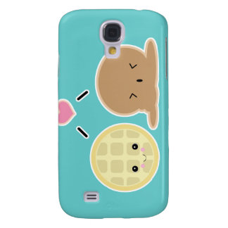 waffle and ice cream love samsung galaxy s4 case