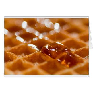 Waffle Card
