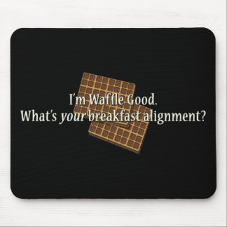 Waffle Good Alignment Mouse Pad