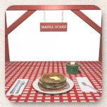 Waffle House Drink Coaster