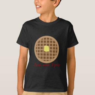 Waffle_Just añade el jarabe Playera