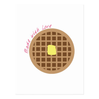 Waffle_Made With Love Post Cards