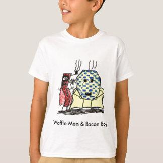 Waffle Man & Bacon Boy T-Shirt