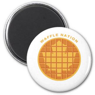 Waffle Nation Magnet