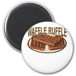 Waffle Ruffle . Magnet