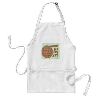 Waffle Shortage! Adult Apron