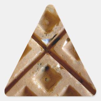 Waffle Triangle Sticker