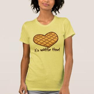 Waffle Time Pajama Top Shirt