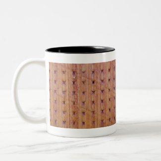 Waffle Wood Mug 2 mug