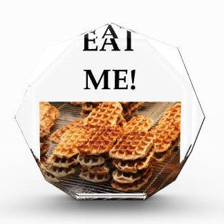 waffles acrylic award