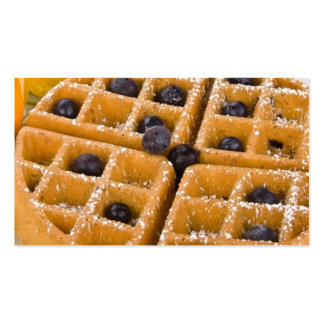 Waffles and Syrup Business Card