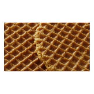 Waffles Business Card Template