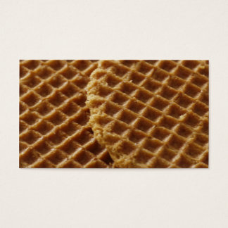 Waffles Business Card