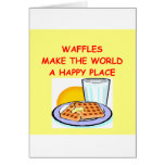 waffles cards
