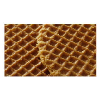 Waffles Double-Sided Standard Business Cards (Pack Of 100)