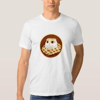 Waffles el gato playeras