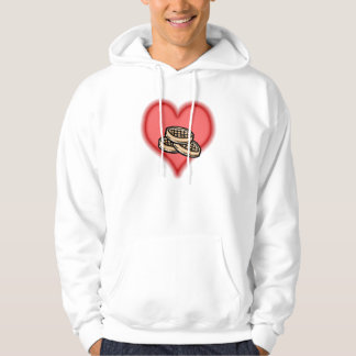 waffles hooded pullover