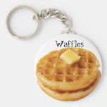 Waffles Keychain