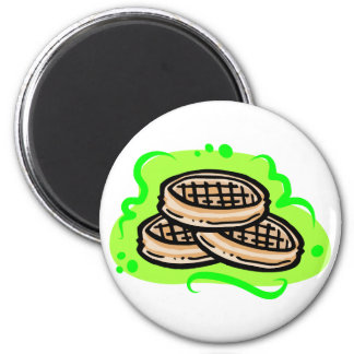 Waffles Magnet