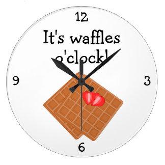 Waffles O'Clock fun food graphic