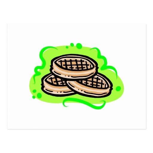 Waffles Postcard