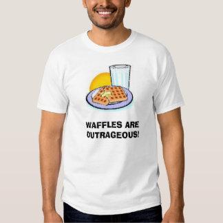 WAFFLES T SHIRT