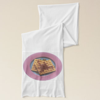 Waffles With Syrup Scarf