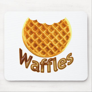 Waffles Yum Mouse Pad