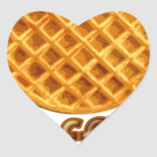 Waffles Yum Stickers