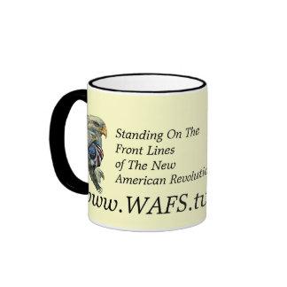 WAFS-TV: America's Free Speech Network Coffee Mugs