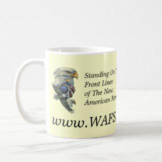 WAFS-TV: Red del discurso libre de América - taza