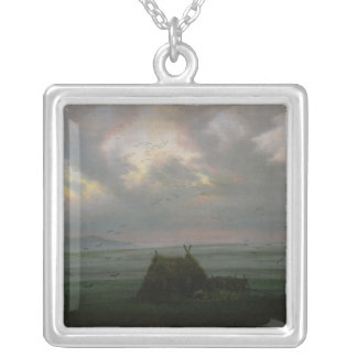 Waft of Mist, c. 1818-20 Silver Plated Necklace